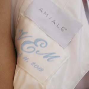 A Wedding Dress label A Simple Style